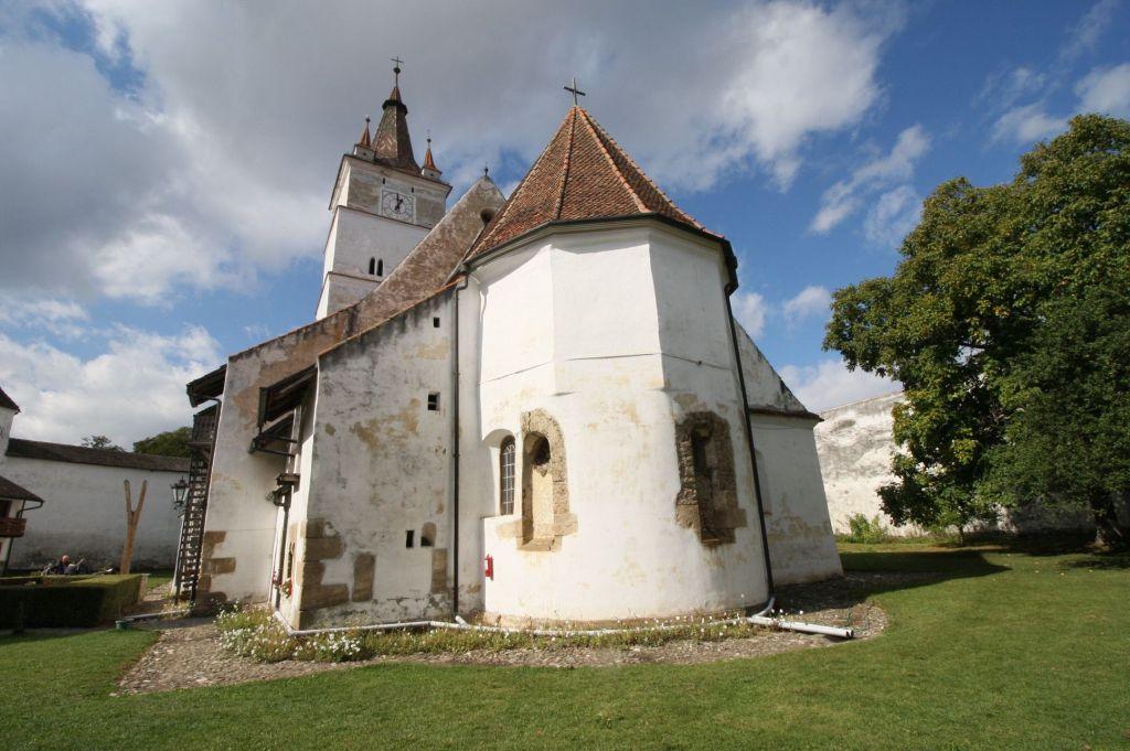Chor der Wehrkirche von Honigberg im Burzenland