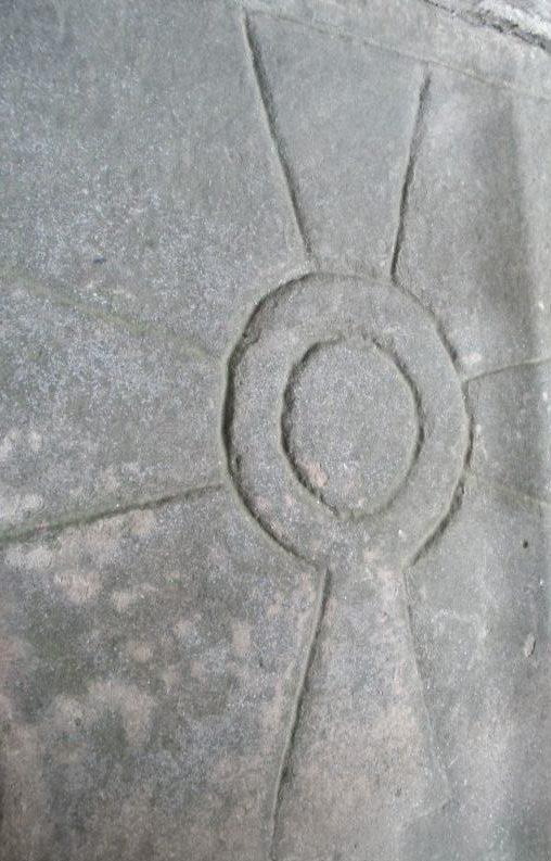Zisterziensersymbol Sonnenkreuz