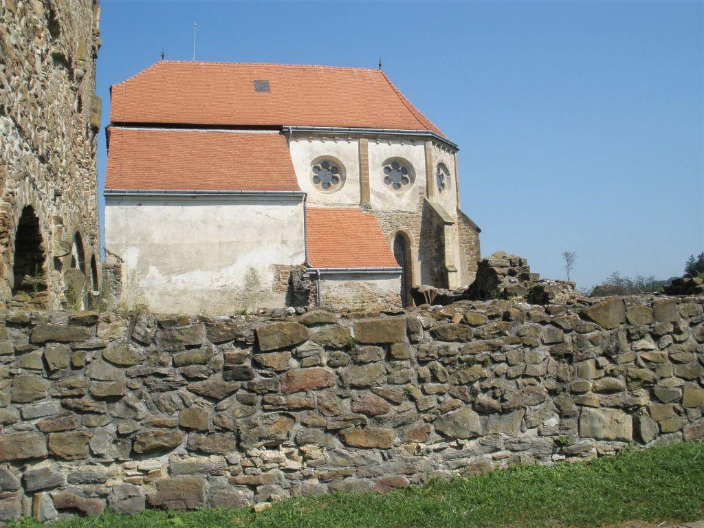 Chorraum des ehemaligen Zisterzienserklosters von Cârţa