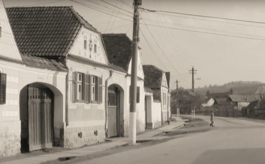 Strasse in Malancrav, Siebenbuergen