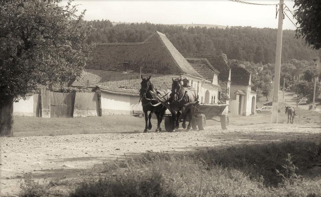 Dorfidylle in Siebenbuergen