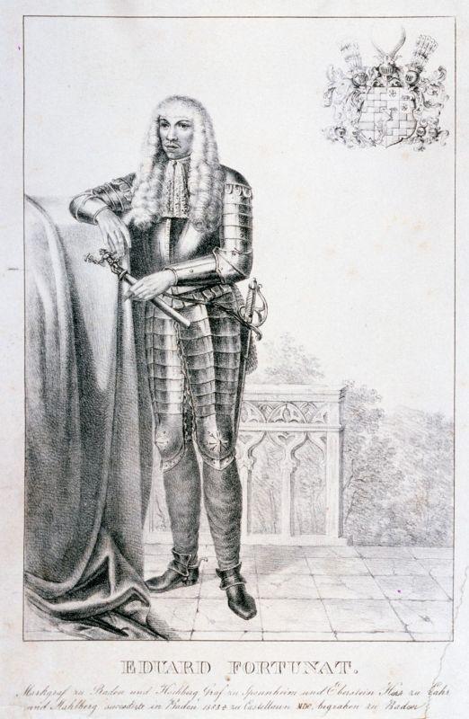 Eduard Fortunat, Markgraf von Baden-Rodermachern