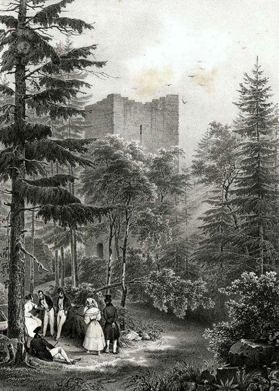 Stich Ruine Yburg