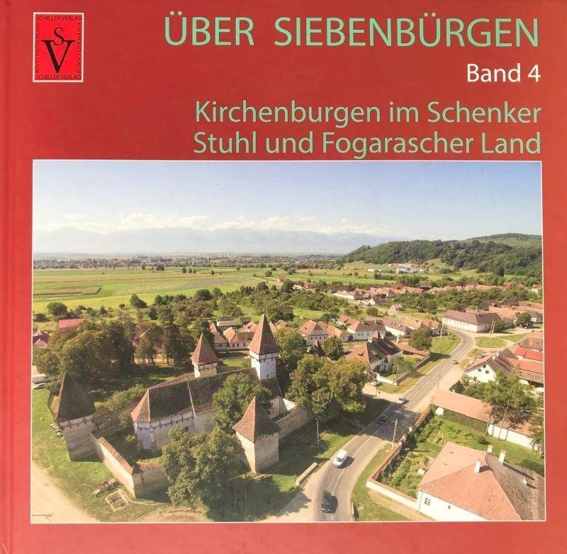Buchcover Ueber Siebenbuergen Band 4