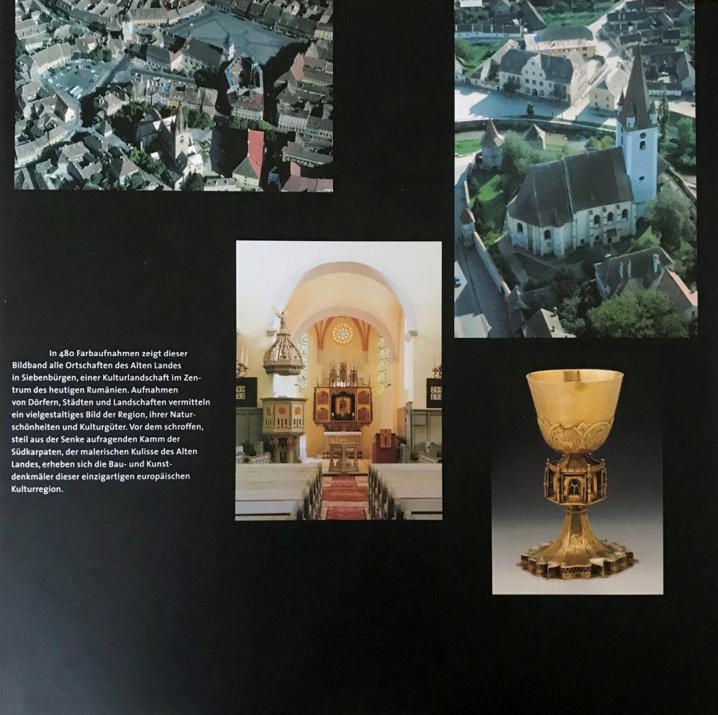 Cover-Rueckseite des Bildbands Hermannstadt und das Alte Land