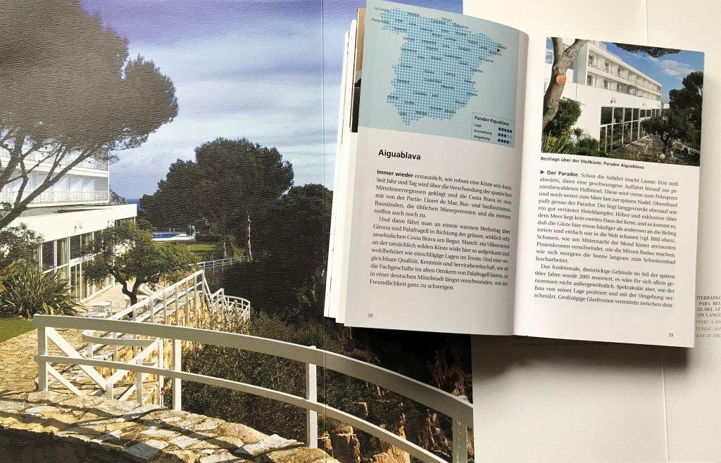 Abbildung Parador Aiguablava aus dem Reisefuehrer Spaniens Paradores