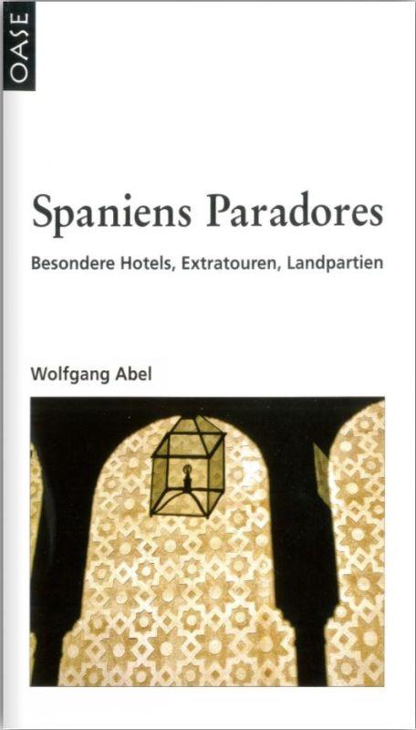 Cover des Reisefuehrers Spaniens Paradores
