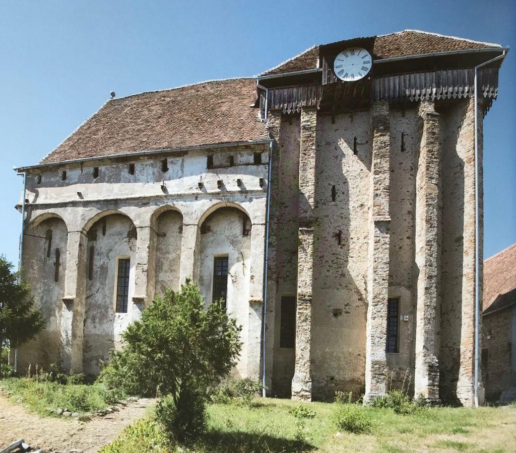 Kirchenburg von Seligstadt in Siebenbuergen; Fotografie aus dem Bildband Das Repser und das Fogarascher Land