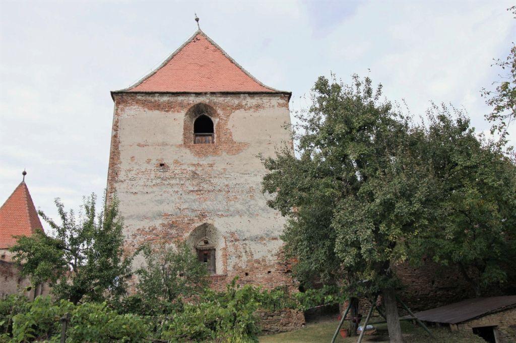 Glockenturm auf der Stolzenburg in Slimnic, Siebenbuergen
