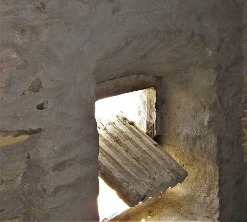 Todesorgel in der Wehrmauer der Kirchenburg von Tartlau / Prejmer