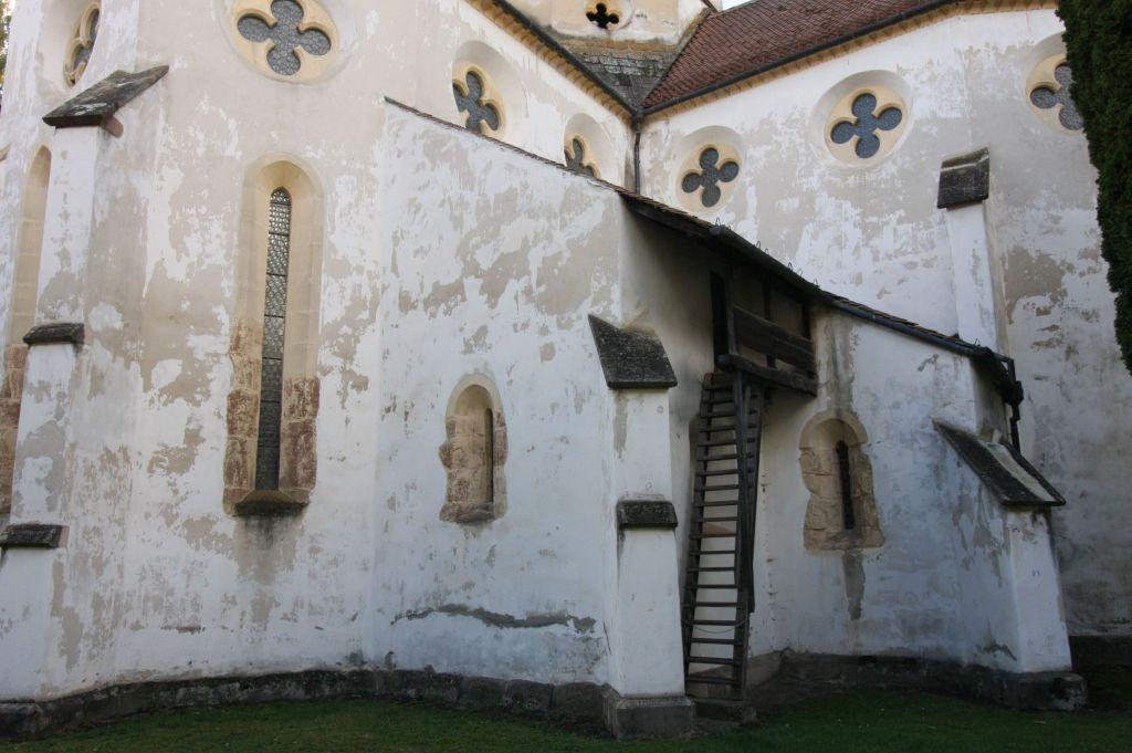 Heilig Kreuz Kirche von Tartlau / Prejmer