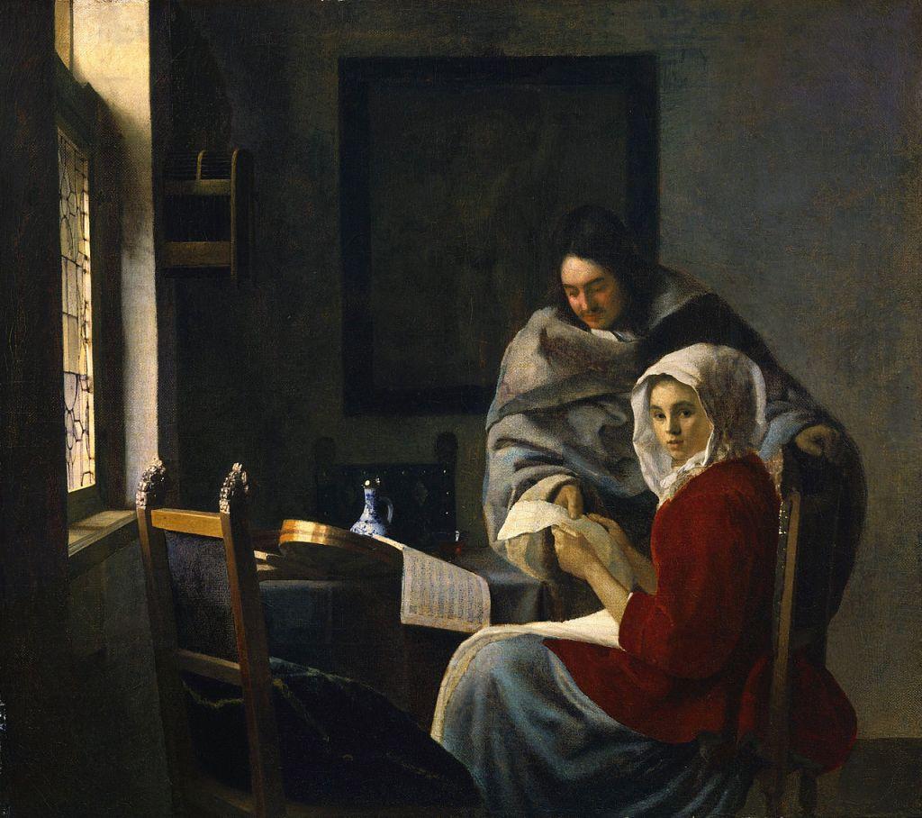 Jan Vermeer; Die unterbrochene Musikstunde (1660/1661); Frick Collection, New York