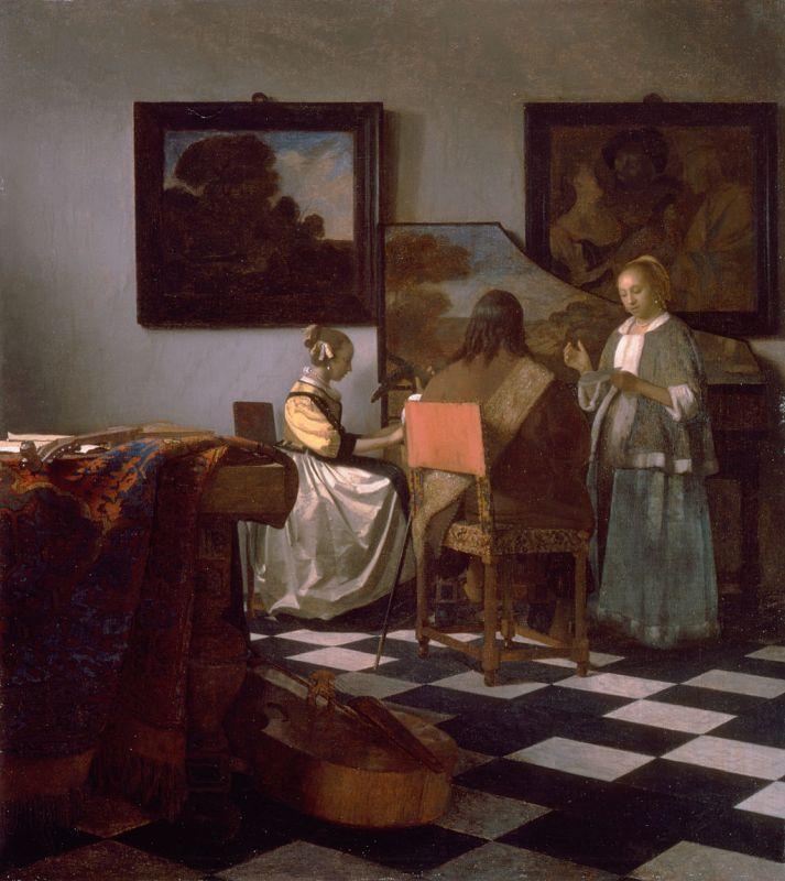 Jan Vermeer; Das Konzert (1665/1666)