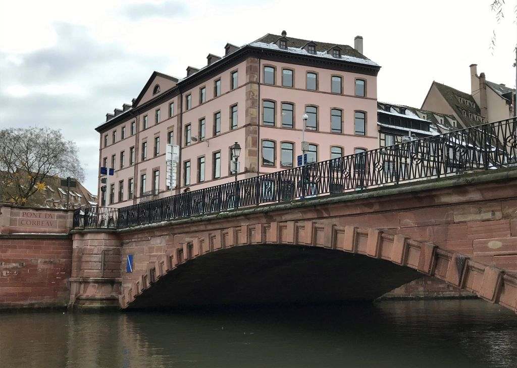 Pont du Corbeau - Rabenbruecke in Strassburg