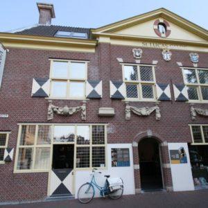 Vermeer Centrum Delft im ehemaligen Haus der Sankt Lukas Gilde in Delft