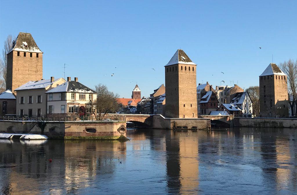 Strasbourg Ponts Couverts - gedeckte Brücken