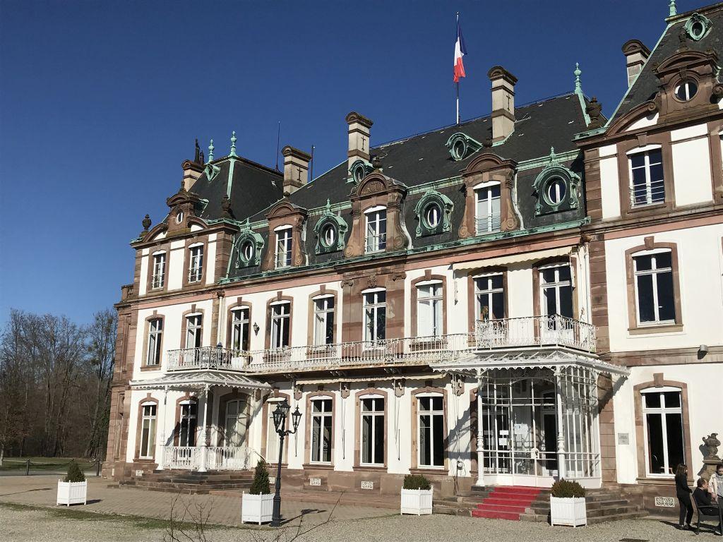 Schloss de Pourtalès bei Strasbourg
