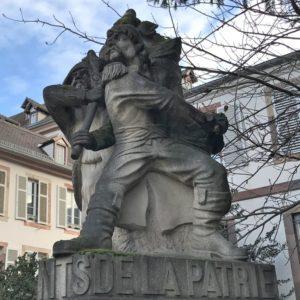 Denkmal Marseillaise - Nachbau aus dem Jahr 1980, Place Broglie Strasbourg
