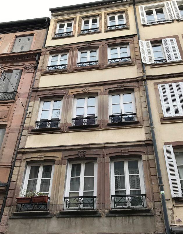 ehemailges Wohnehaus von Rouget de Lisle in Strasbourg