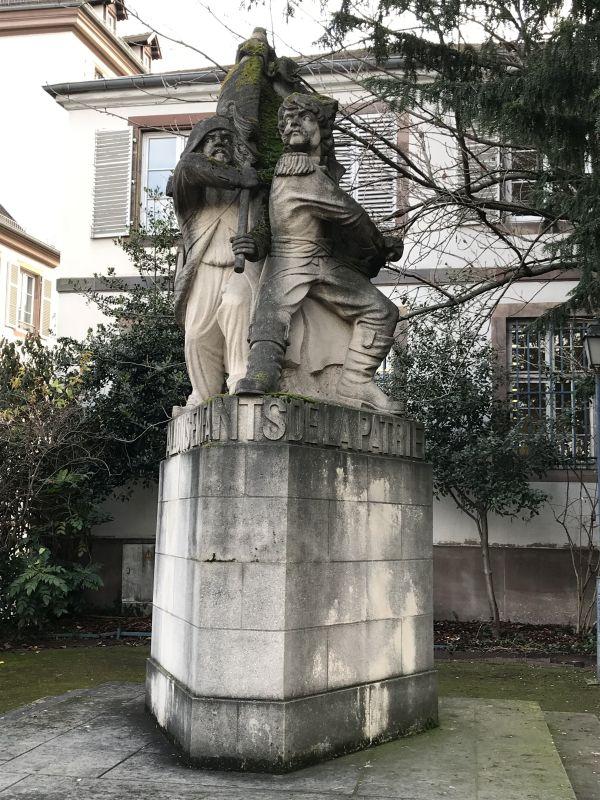 Denkmal Marseillaise, Place Broglie Strasbourg