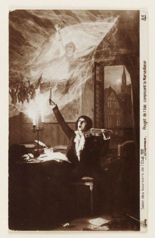 Claude Joseph Rouget de Lisle komponiert die Marseillaise