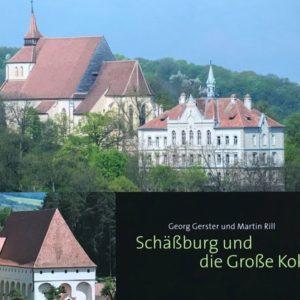 Schässburg und die grosse Kokel von Martin Rill