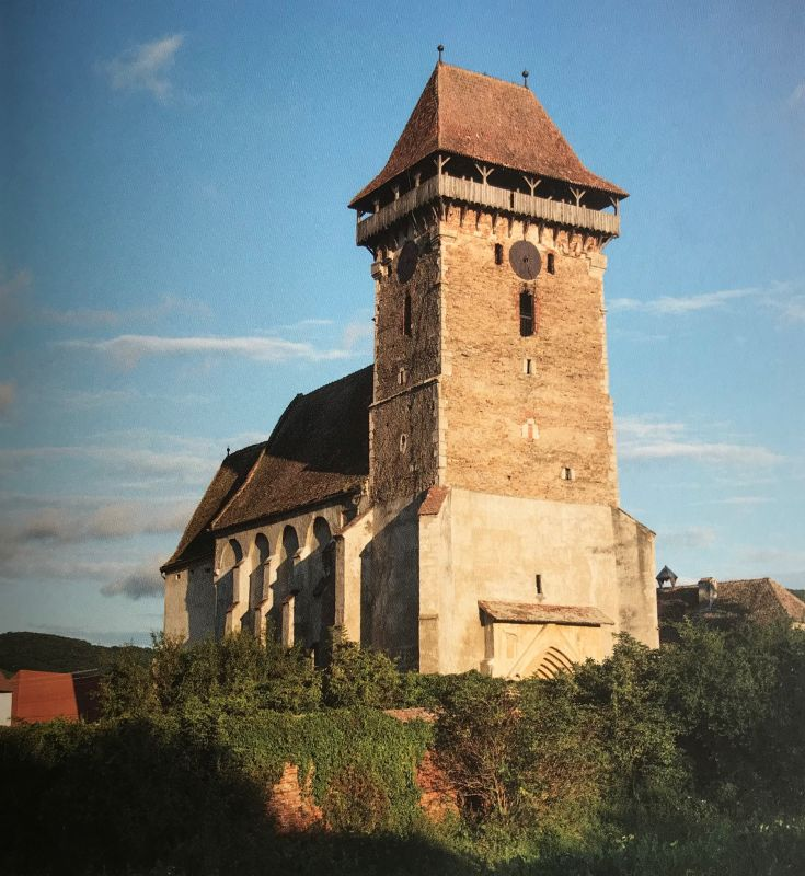 Kirchenburg Bogeschdorf aus dem Bildband Einblicke ins Zwischenkokelgebiet