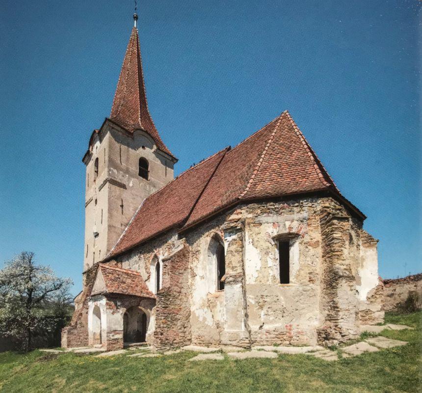 Kirchenburg in Felldorf aus dem Bildband Einblicke ins Zwischenkokelgebiet