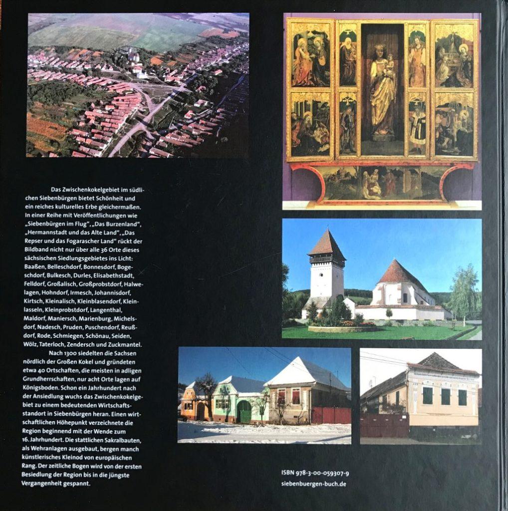 Rueckansicht Buch Einblicke ins Zwischenkokelgebiet von Martin Rill