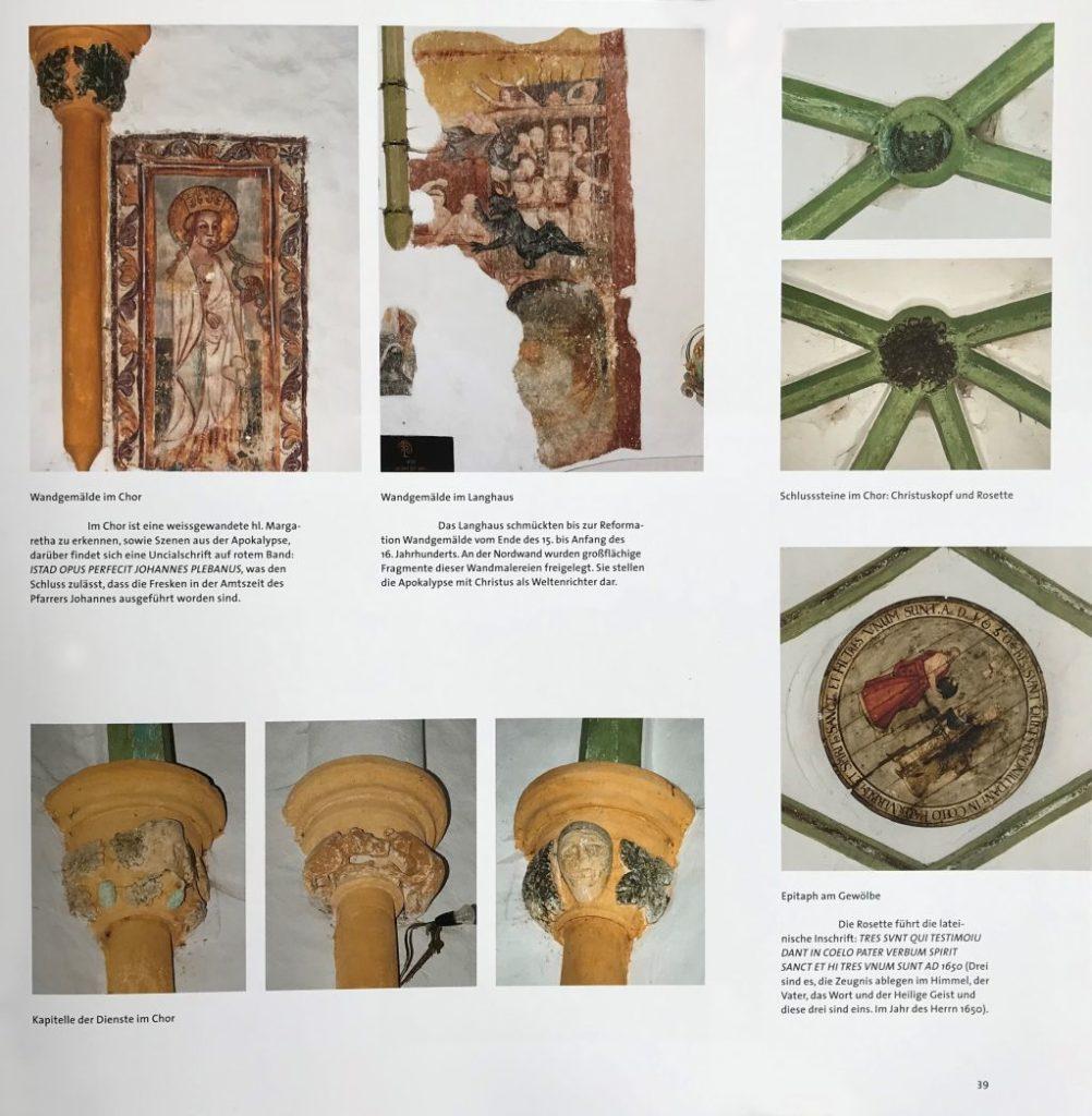 Details Kirchenburg Bogeschdorf aus dem Bildband Einblicke ins Zwischenkokelgebiet von Martin Rill