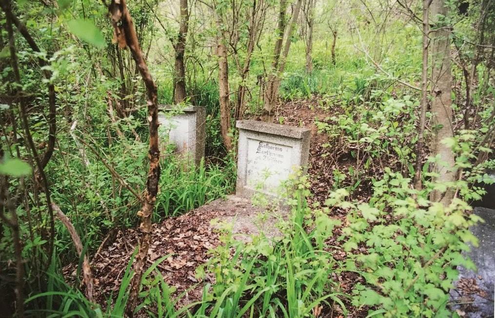 Friedhof in Belleschdorf aus dem Buch Einblicke ins Zwischenkokelgebiet von Martin Rill