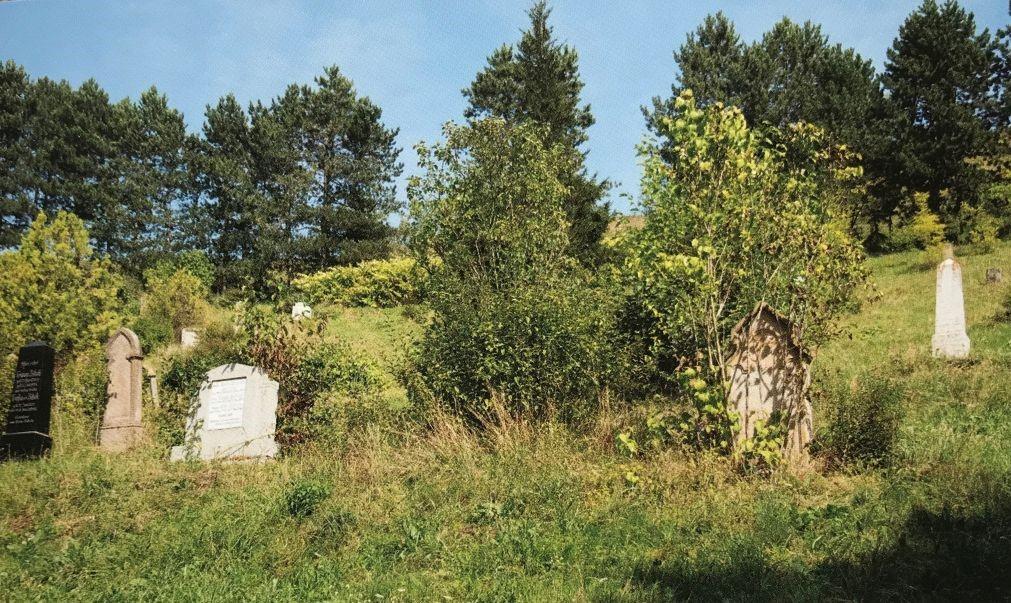 Friedhof in Maldorf aus dem Buch Einblicke ins Zwischenkokelgebiet von Martin Rill