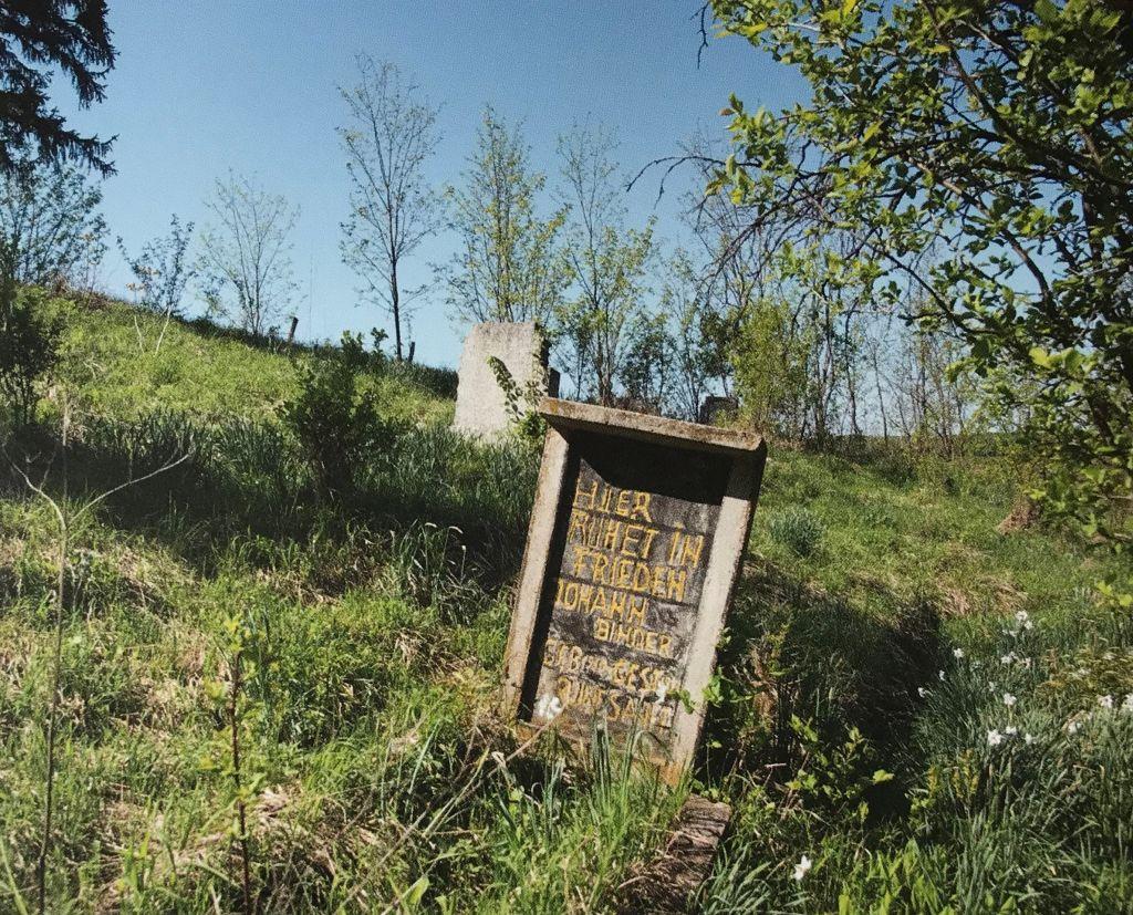 Friedhof in Puschen aus dem Buch Einblicke ins Zwischenkokelgebiet von Martin Rill