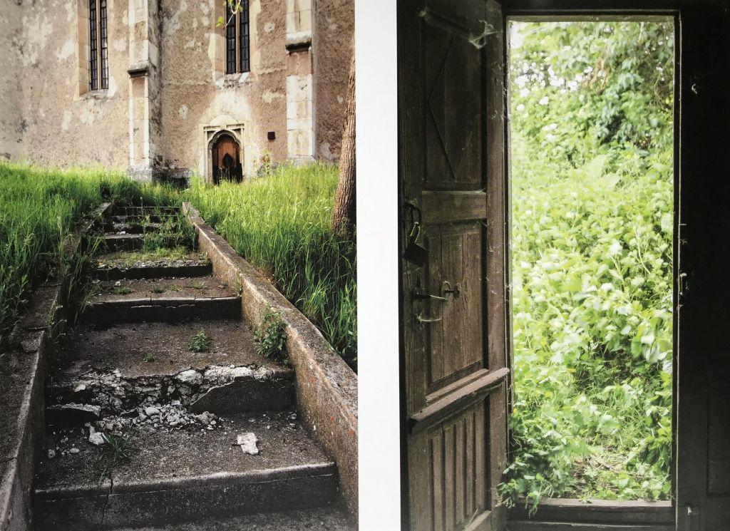 Unkraut-Impressionen aus den Kirchenburgen von Trappold und Waldhütten aus dem Buch Siebenbuergen Bilder einer Reise 2 von Peter Jacobi