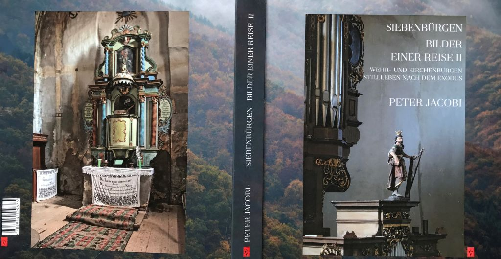 Cover Buch Siebenbuergen Bilder einer Reise 2 von Peter Jacobi