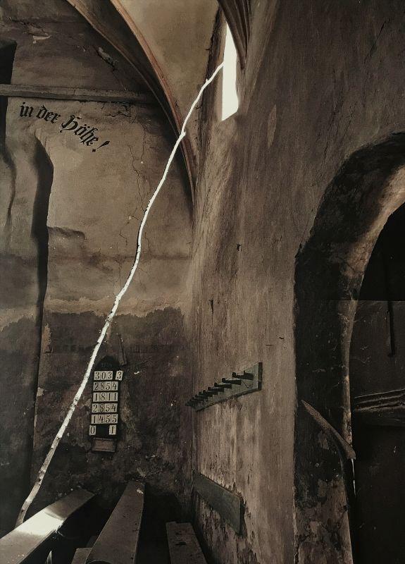 Impression aus der Kirchenburg von Neithausen aus dem Buch Siebenbuergen Bilder einer Reise 2 von Peter Jacobi