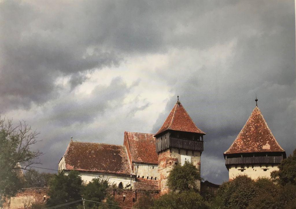 Wehrkirche von Almen aus dem Buch Siebenbuergen Bilder einer Reise 2 von Peter Jacobi