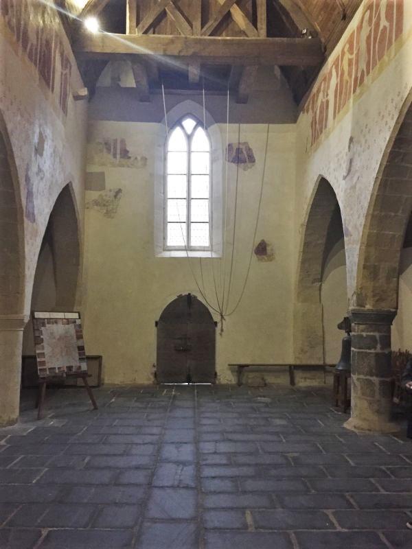 Langschiff der Kapelle Kermaria an Iskuit