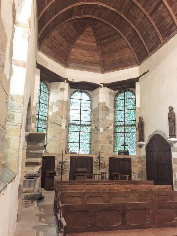 Chor der Kapelle Kermaria an Iskuit