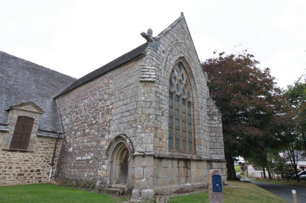 Suedliches Querschiff der Kapelle Kermaria an Iskuit Bretagne