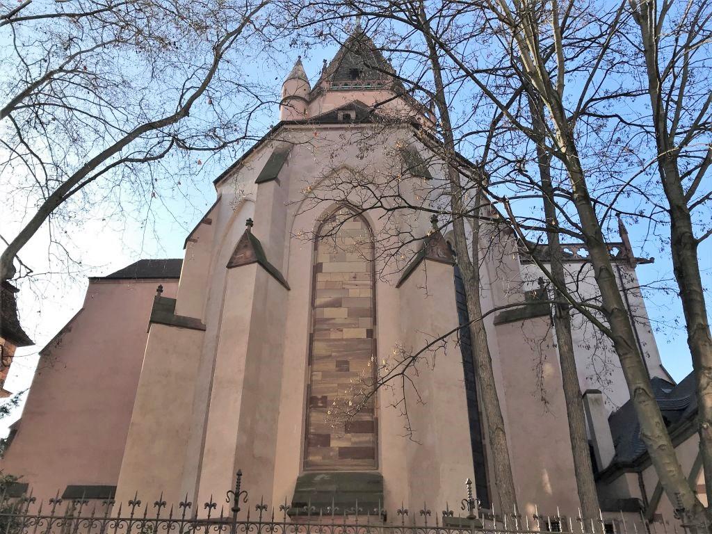 Chor der Kirche St. Thomas in Strassburg, Frankreich