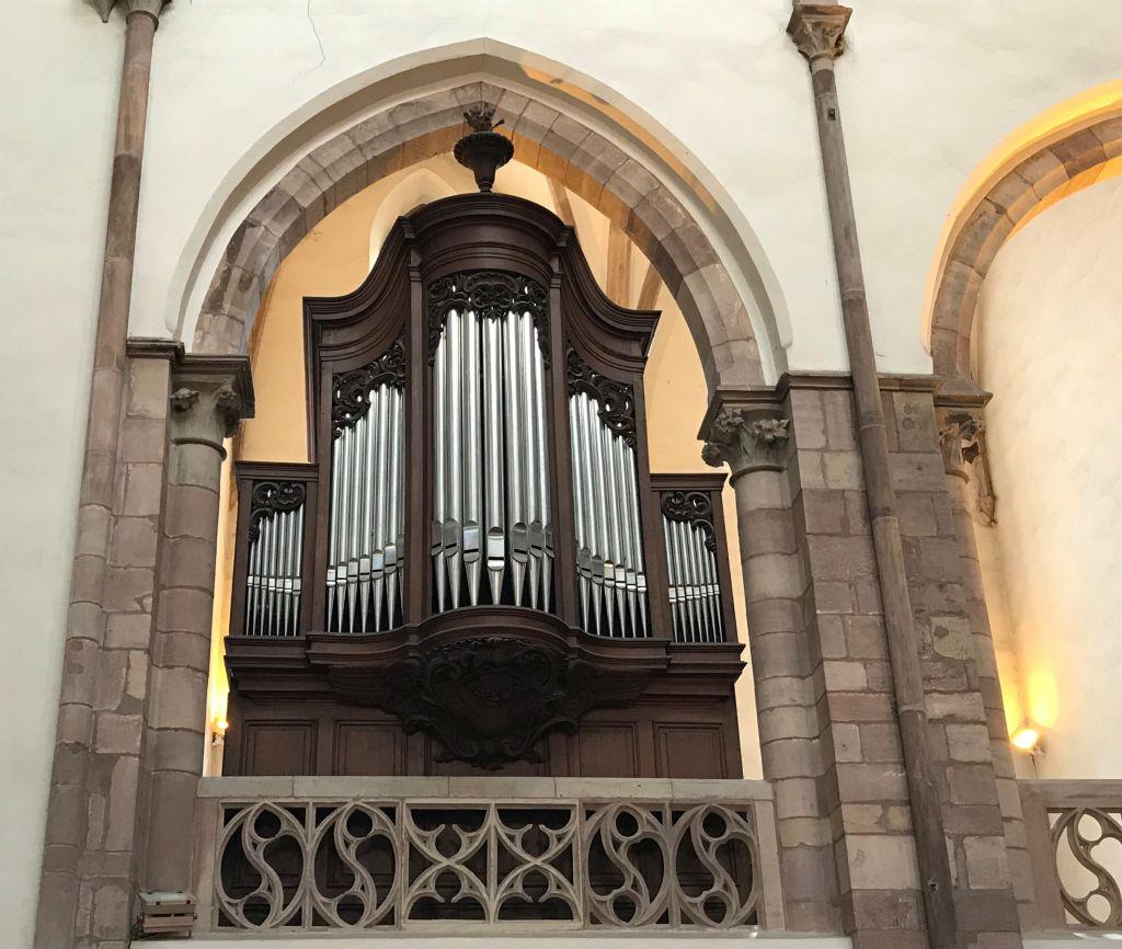 Chororgel der Kirche Sankt Thomas in Strasbourg