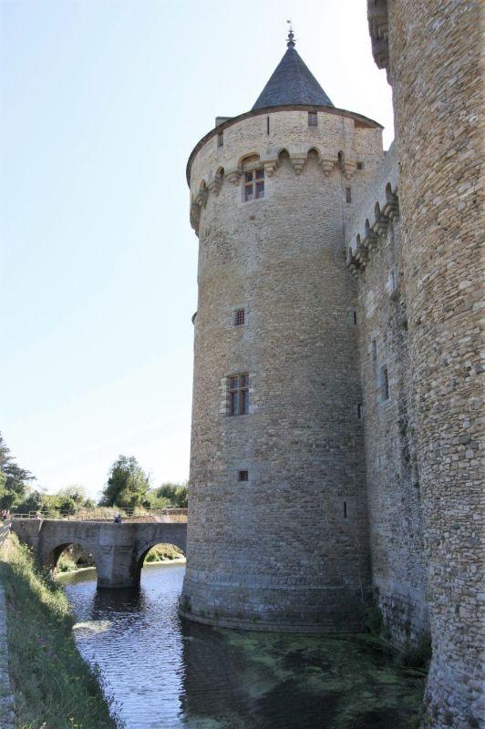 Tour Saint Nicolas Chateau de Suscinio, Bretagne