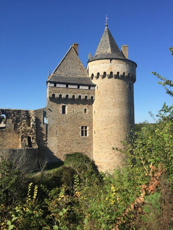 Salinen-Turm Schloss Suscinio