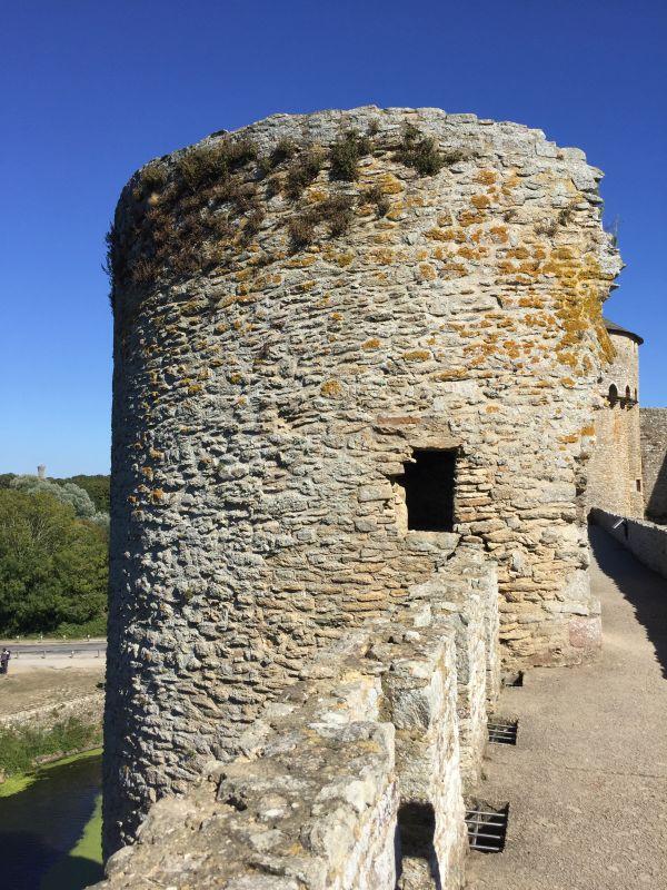 Turmruine aus dem 13. Jahrhundert Schloss Suscinio