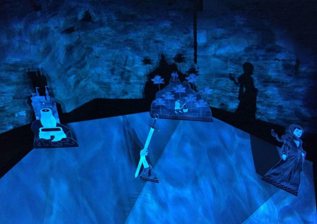 Artus-Legende Inszenierung im Chateau de Suscinio