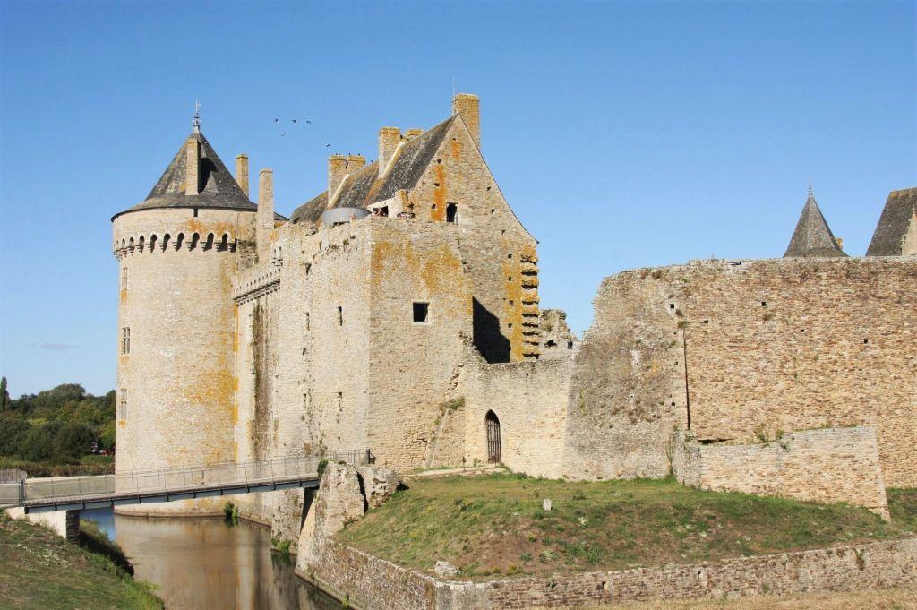 Suedwestecke mit Bastion des Chateau de Suscinio