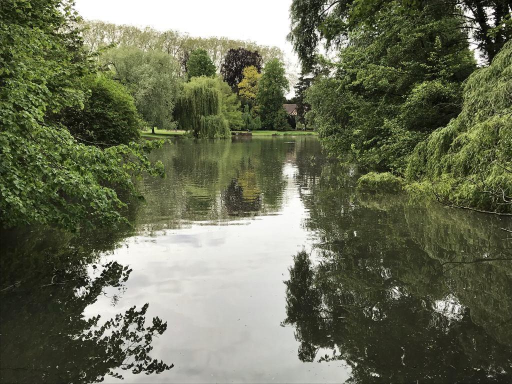 See in der Orangerie in Strassburg