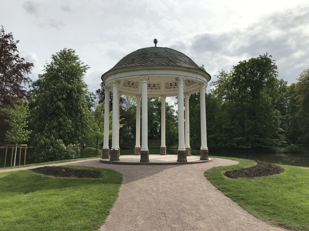 Liebestempel im Orangerie-Park in Strassburg