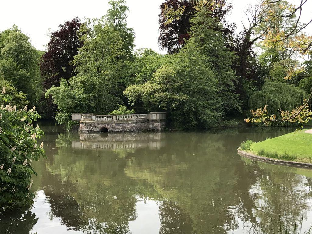 See im Parc de l'Orangerie in Strassburg